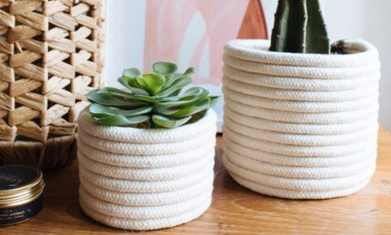 rope-planter-diy
